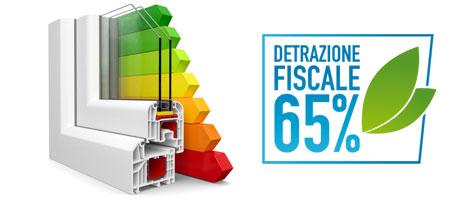detrazione fiscale 65% finestre